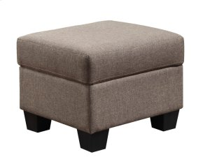 Emerald Home Clearview Ottoman Brown U3610a-03-15