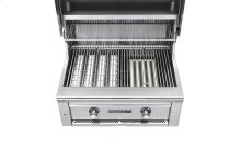 """30"""" Sedona by Lynx Built In Grill with 1 ProSear1 Burner, 1 SS Tube Burner NG"""