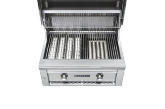 "30"" Sedona by Lynx Built In Grill with 2 Stainless Steel Burners, LP"