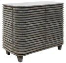 Bengal Manor Mango Wood Curved Slat Cabinet Product Image