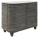 Bengal Manor Mango Wood Curved Slat Cabinet Product Image
