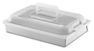 "Classic Nonstick 9""x13""x2"" Cake Pan with Lid - Other"