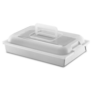 """Classic Nonstick 9""""x13""""x2"""" Cake Pan with Lid - Other"""