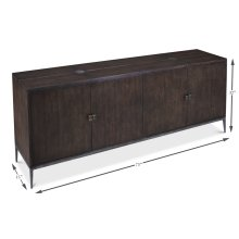 Benson Cabinet, Artisan Grey