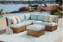 St Barths Sectional 6 PC w/ottoman