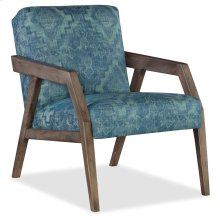 Domestic Living Room Lachlin Exposed Wood Chair