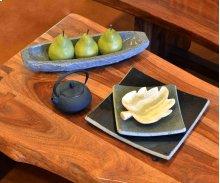 Stone Plateware Boat Serving Dish 15.75X5 / Blue Gray Granite