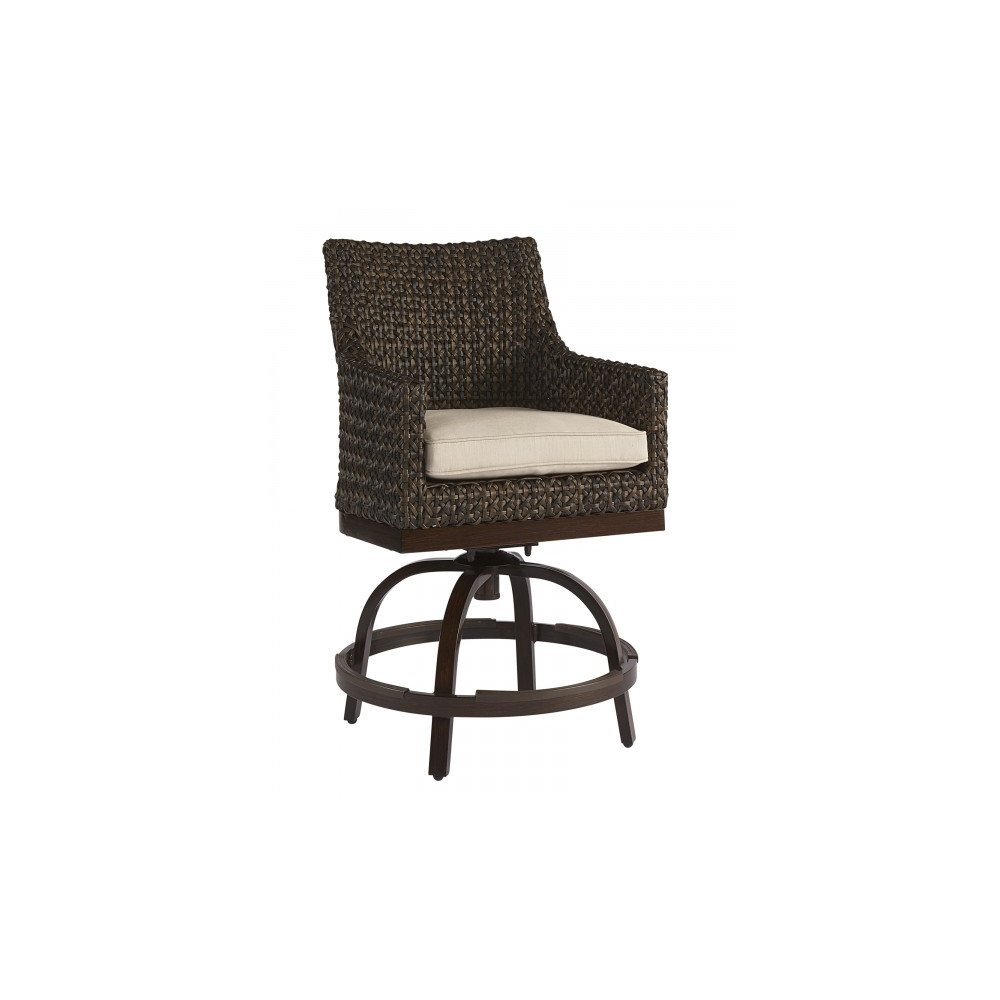 Epicenters Brentwood Outdoor Franklin Wicker Counter Stool