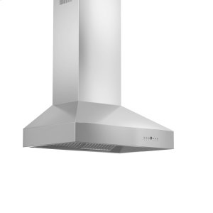 "Perlick36"" Professional Stainless 667 Wall Mounted Hood"