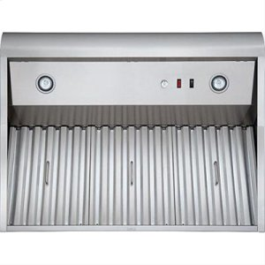 """60"""" Stainless Steel Model WPD38I Pro-Style Outdoor Hood"""
