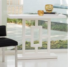 Grid Block Console-White