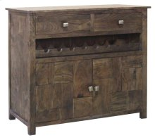 Bengal manor 2 Door 2 Drawer Wine Cabinet