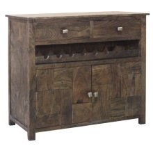 Bengal manor 2 Door 2 Drawer Wine Cabinet