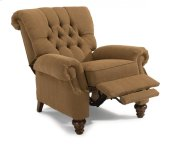 Equestrian Fabric Power High-Leg Recliner
