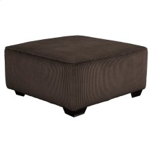 Signature Design by Ashley Jinllingsly Oversized Accent Ottoman in Chocolate Corduroy [FSD-1949OTT-CHO-GG]