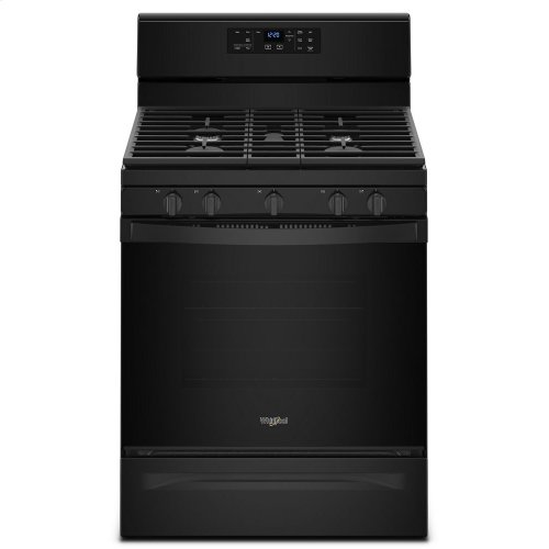 5.0 cu. ft. Freestanding Gas Range with Center Oval Burner