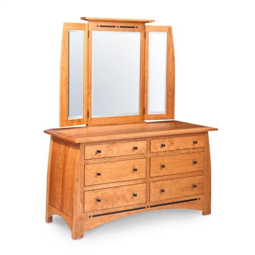 Aspen 6-Drawer Dresser, Medium