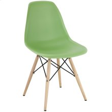 Pyramid Dining Side Chair in Light Green