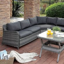 Selina Patio Sectional W/ Table