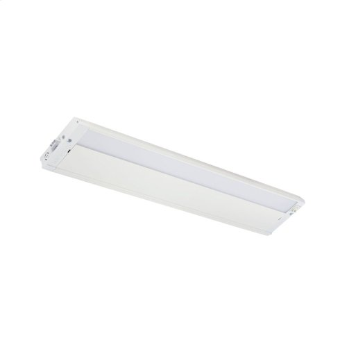 "4U 22"" 2700K LED Cabinet Light Textured White"