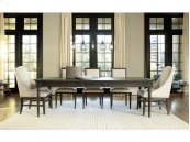 Tribeca Leg Table - Brownstone