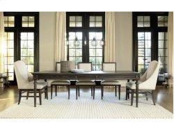 Tribeca Leg Table - Brownstone