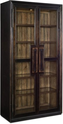 Crafted Display Cabinet