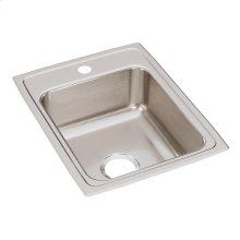 """Elkay Lustertone Classic Stainless Steel 17"""" x 22"""" x 7-5/8"""", Single Bowl Drop-in Sink"""