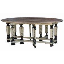 Faux Leg Drop Leaf Table 8'