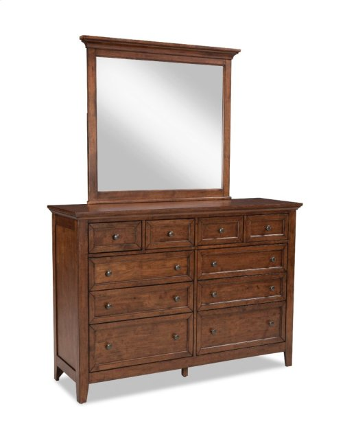 Bedroom - San Mateo 10 Drawer Dresser