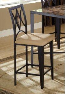 Diamond Tile Back Bar Stool (matches 4014 pub table)