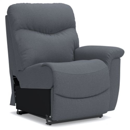 James Power Left-arm Sitting Recliner