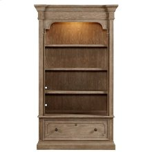 Wethersfield Estate-Lateral File Bookcase in Brimfield Oak
