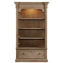 Wethersfield Estate - Lateral File Bookcase In Brimfield Oak