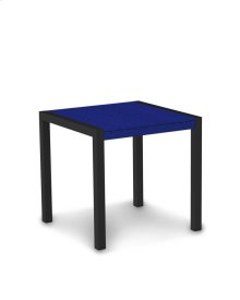 """Textured Black & Pacific Blue MOD 30"""" Dining Table"""