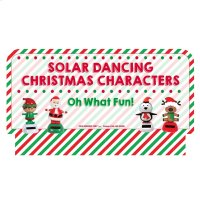 Oh What Fun! Stocking Stuffers - Solar Dancers Sign Product Image
