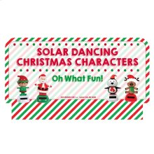 Oh What Fun! Stocking Stuffers - Solar Dancers Sign