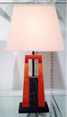 Tapered Lamp with Slate