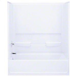 "Advantage™, Series 6103, 60"" x 56-1/4"" Bath/Shower - Back Wall - White Product Image"