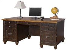 Double Pedestal Desk
