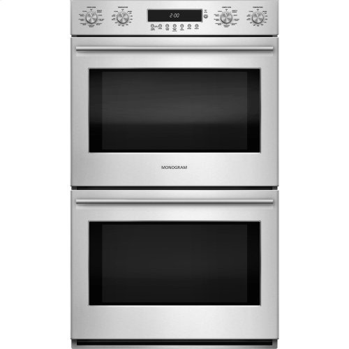 "Monogram 30"" Electronic Convection Double Wall Oven"