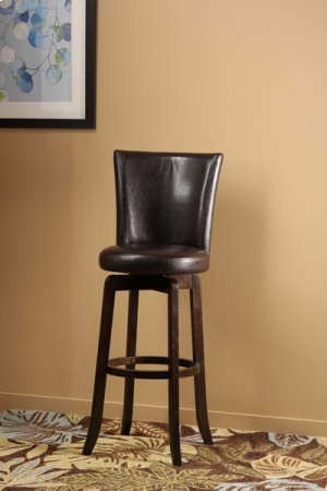Copenhagen Counter Stool W/ Brown Vinyl