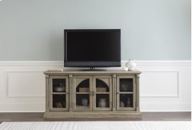 64 Inch Console - Greige Finish