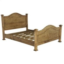 "King : 78"" x 51"" x 83"" Promo Bed"