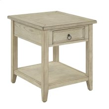 22512  1 Drawer End Table