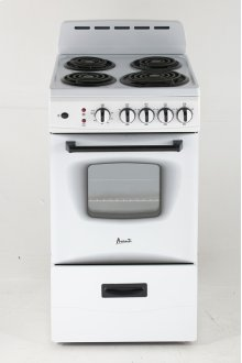 "20"" Electric Range"