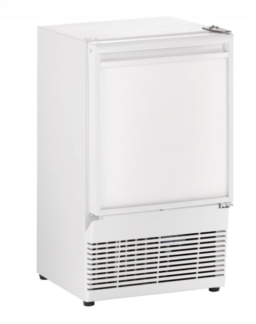 """Ada Series 14"""" Crescent Ice Maker With White Solid Finish and Field Reversible Door Swing (115 Volts / 60 Hz)"""