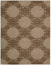 Ambrose Amb01 Almond Rectangle Rug 5'6'' X 7'5''