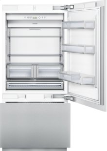 36 inch Custom Panel Built-In Bottom-Freezer T36IB800SP