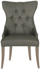 Deco Tufted Back Chair in Smoke Product Image